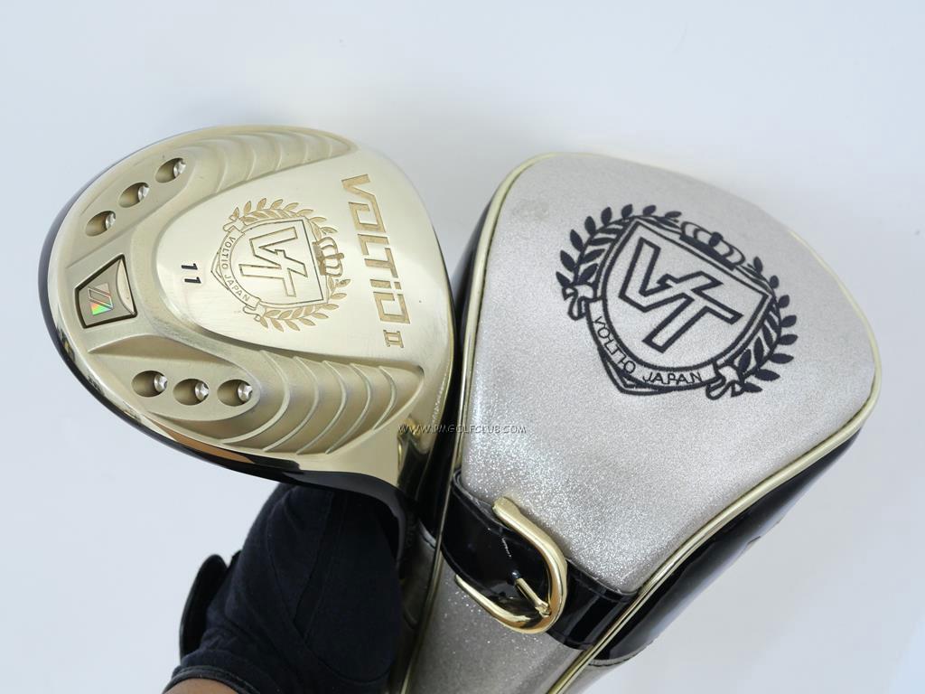 Driver : Katana : ไดรเวอร์ Katana Voltio II Gold (460cc.) Loft 11 ก้าน Tour AD KT-5 Flex R