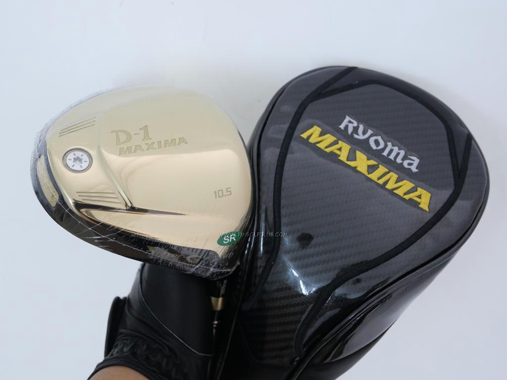 Driver : Ryoma : ***ของใหม่ ยังไม่แกะพลาสติก*** Ryoma D-1 Maxima Type G (รุ่นปี 2015) Loft 10.5 ก้าน TOUR AD MX-G FLEX SR