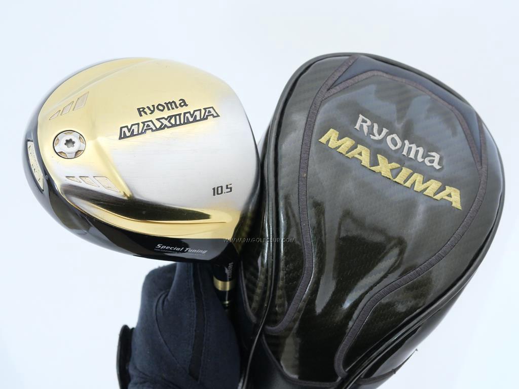 Driver : Ryoma : ไดรเวอร์ Ryoma Maxima Special Tunning (ตัวใหม่ล่าสุด ปี 2018 หน้าเด้งเกินกฏ) Loft 10.5 ก้าน Tour AD M2-G Flex R
