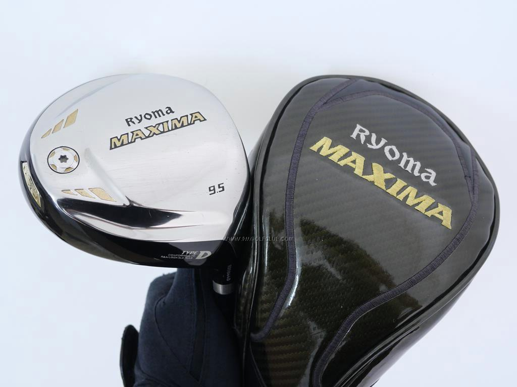 Driver : Ryoma : ไดรเวอร์ Ryoma Maxima Type D (ออกปี 2018) Loft 9.5 ก้าน Fujikura Motore Speeder VT 5.0 Flex R