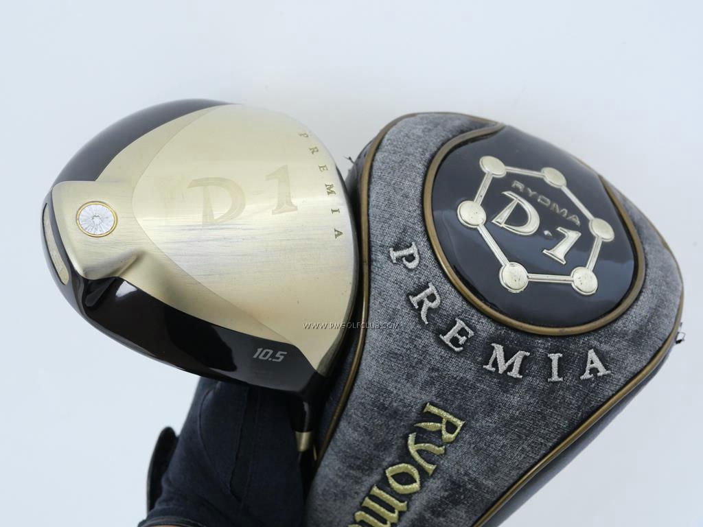 Driver : Ryoma : Ryoma D-1 Premia (ไกลสุดๆ ซุปเปอร์พรีเมียม) Loft 10.5 Flex R