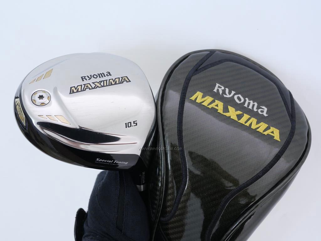 Driver : Ryoma : ไดรเวอร์ Ryoma Maxima Special Tunning (ตัวใหม่ล่าสุด ปี 2018 หน้าเด้งเกินกฏ) Loft 10.5 ก้าน Tour AD M2-D Flex R