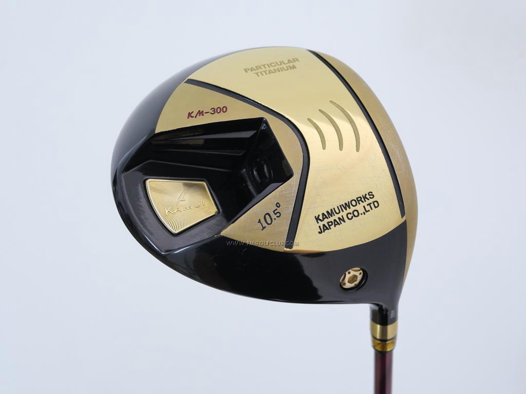 Driver : Kamuiworks : Kamuiworks KM-300 Gold (รุ่นใหม่ล่าสุด หน้าเด้งเกินกฏ มีสปริงข้างใน) Loft 10.5 ก้าน Fujikura Speeder 474 Evolution III Flex R2