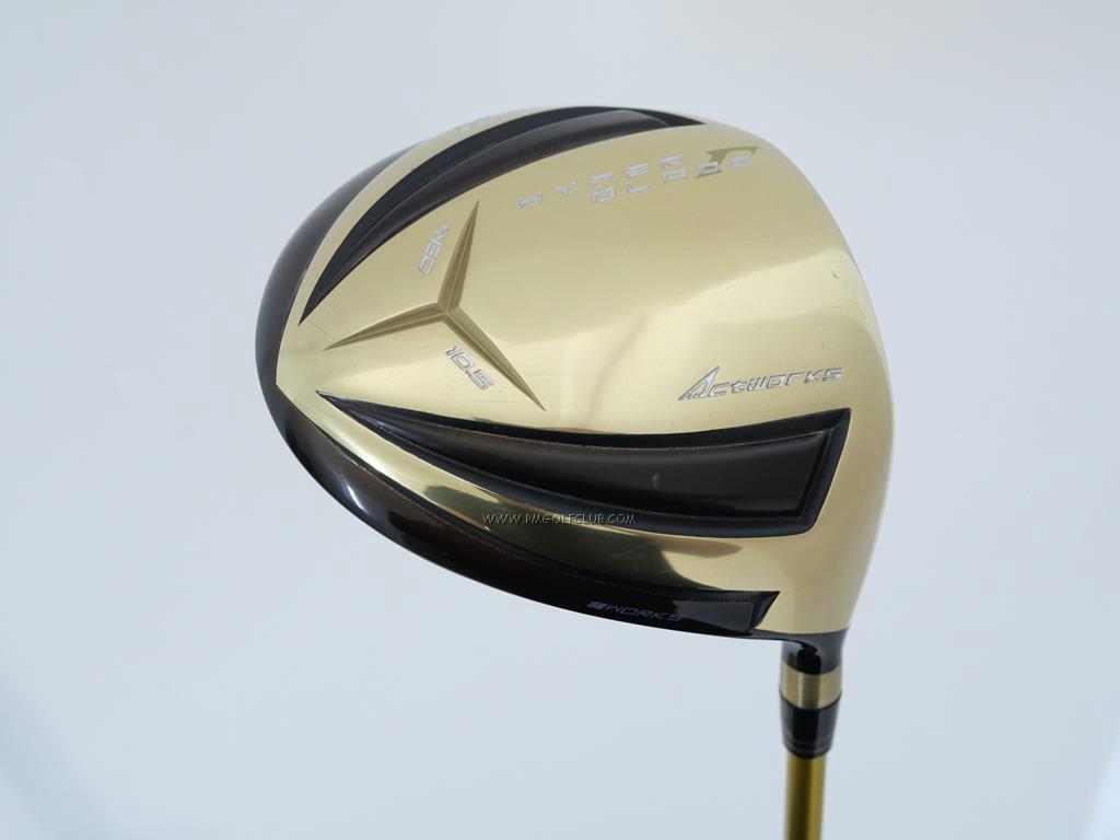 Driver : Worksgolf : Works Golf HyperBlade Premia (หน้าเด้งสุดๆ ชนะแข่งตีไกล) Loft 10.5 ก้าน Fujikura ROMBAX Type X 65 Flex SR