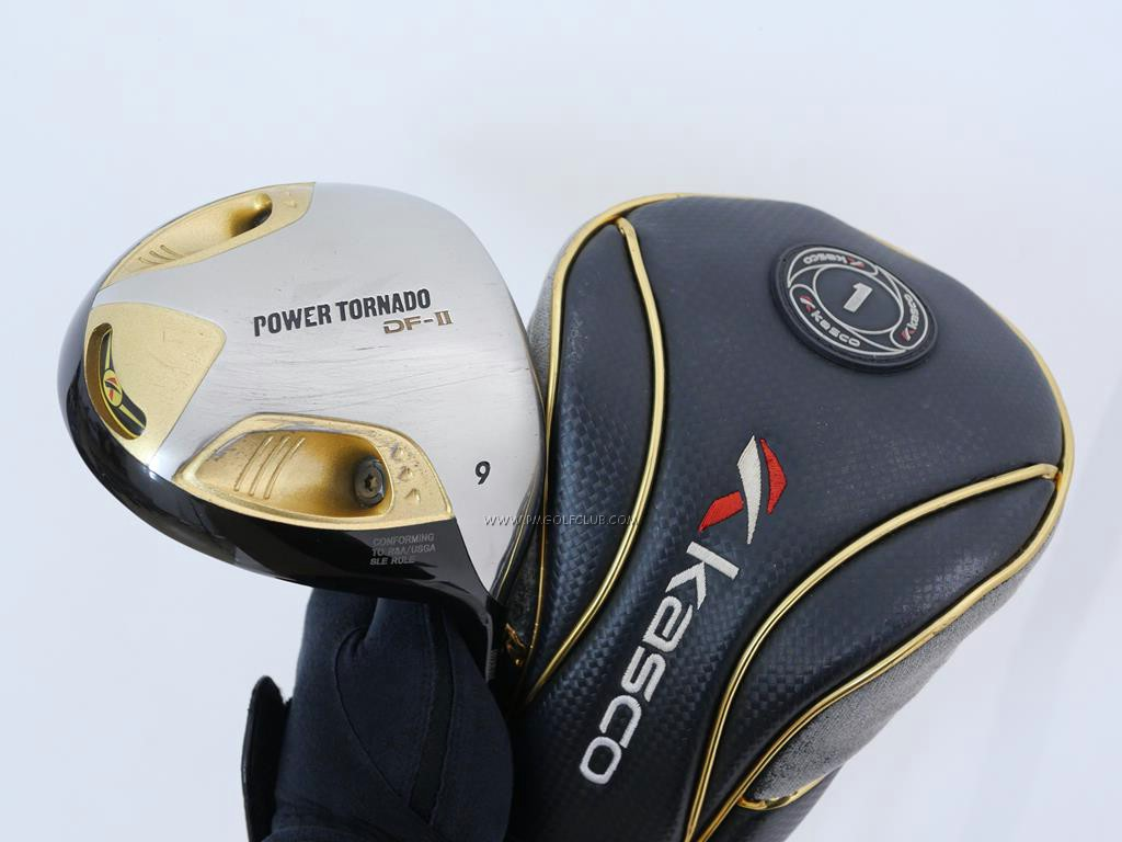 Driver : Kasco : ไดรเวอร์ Kasco Power Tornado DF-II (460cc.) Loft 9 Flex S