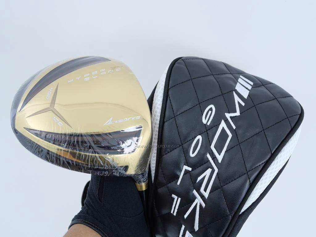Driver : Worksgolf : **ของใหม่ ยังไม่แกะพลาสติก** Works Golf HyperBlade Premia (หน้าเด้งสุดๆ ชนะแข่งตีไกล) Loft 10.5 Flex R