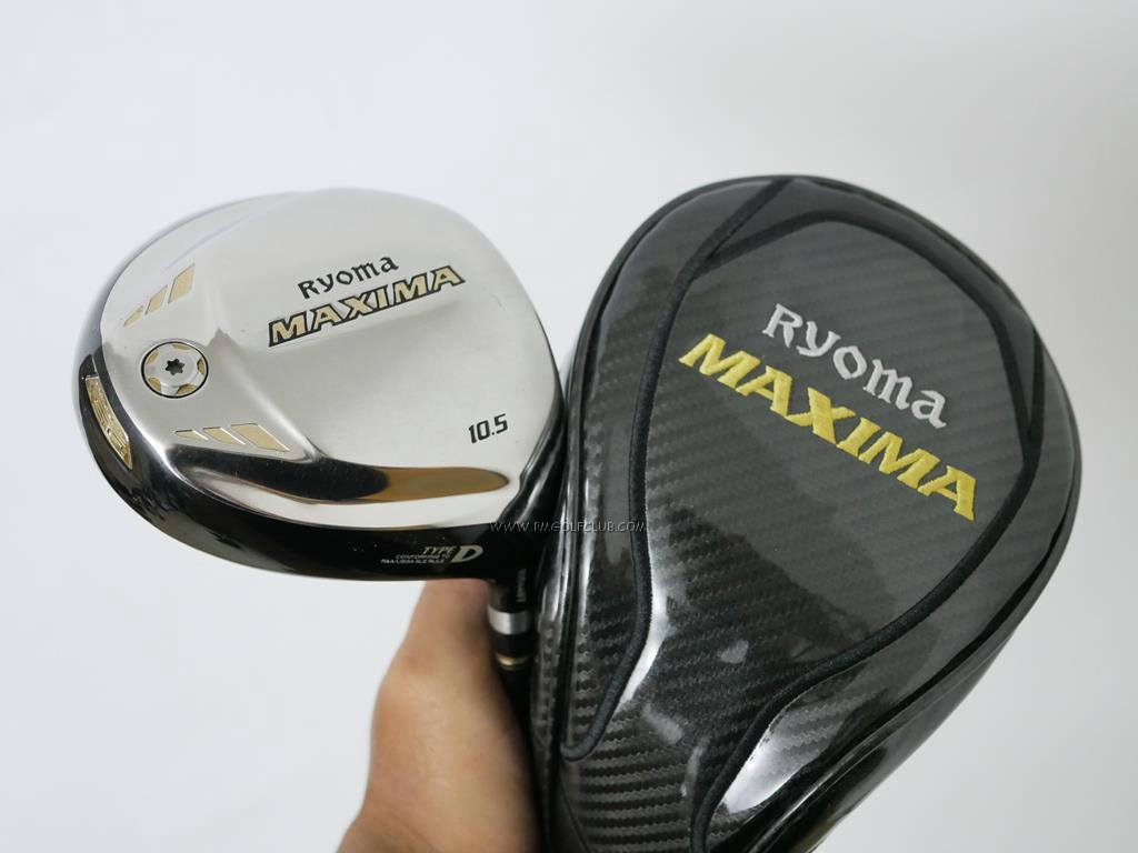 Driver : Ryoma : ไดรเวอร์ Ryoma Maxima Type D (ตัวใหม่ล่าสุด ปี 2018) Loft 10.5 ก้าน Tour AD M2-D Flex S