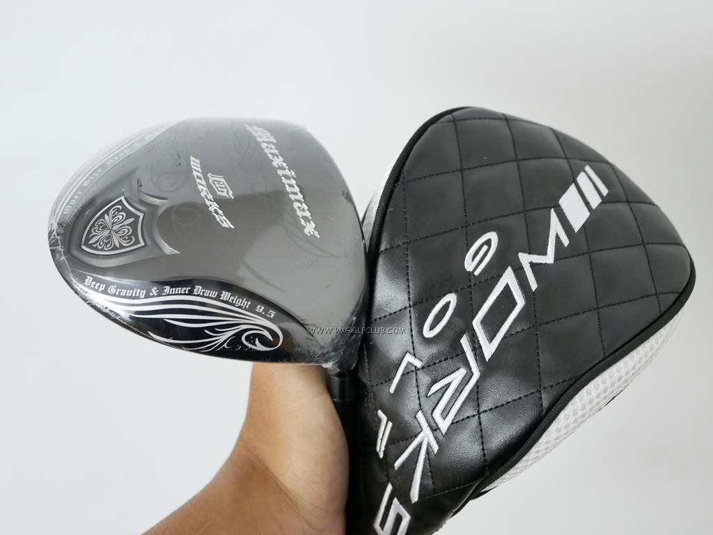 Driver : Worksgolf : **ของใหม่ ยังไม่แกะพลาสติก** ไดรเวอร์ Works Golf Elegant Maximax (รุ่นล่าสุด หน้าเด้งเกินกฏ หัว 480cc.) Loft 9.5 Flex S