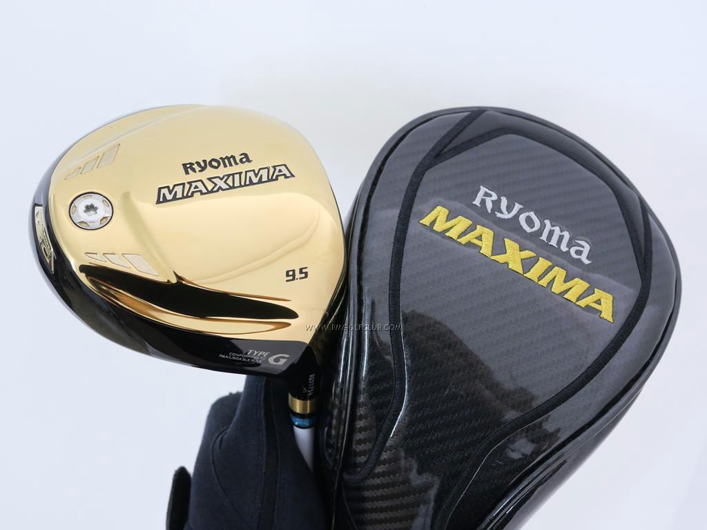 Driver : Ryoma : ไดรเวอร์ Ryoma Maxima Type G (ออกปี 2018) Loft 9.5 ก้าน Mitsubishi FUBUKI a60 Flex R