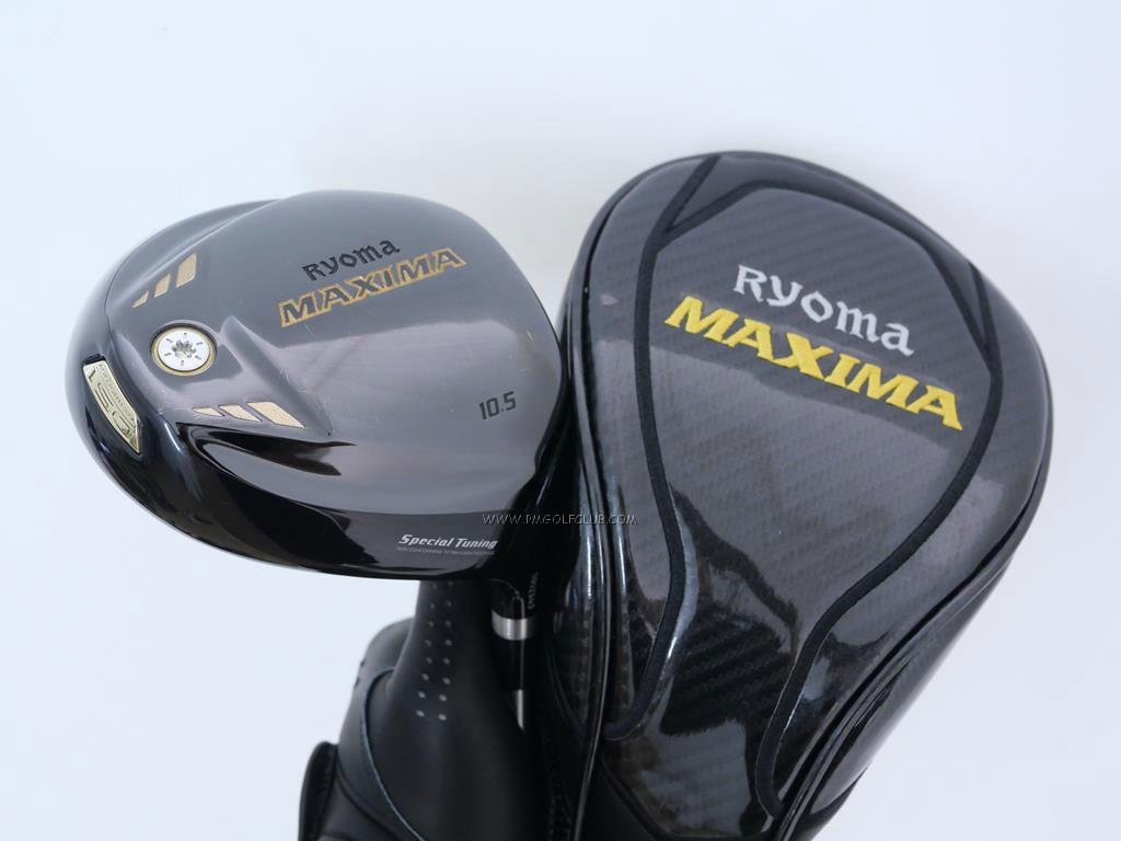 Driver : Ryoma : ไดรเวอร์ Ryoma Maxima Special Tunning (ตัวใหม่ล่าสุด ปี 2018 หน้าเด้งเกินกฏ) Loft 10.5 ก้านตัวท็อป RYOMA BEYOND POWER FLEX ∞