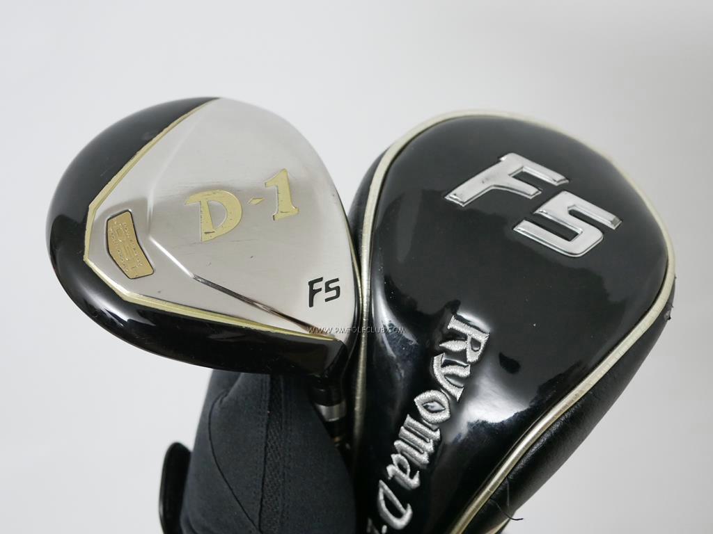 Fairway Wood : Other Brand : หัวไม้ 5 Ryoma D-1 (ไกลมากๆ ค่า COR 0.82 เกือบเท่าไดรเวอร์) Loft 18 ก้าน Tour AD Ryoma F Flex SR