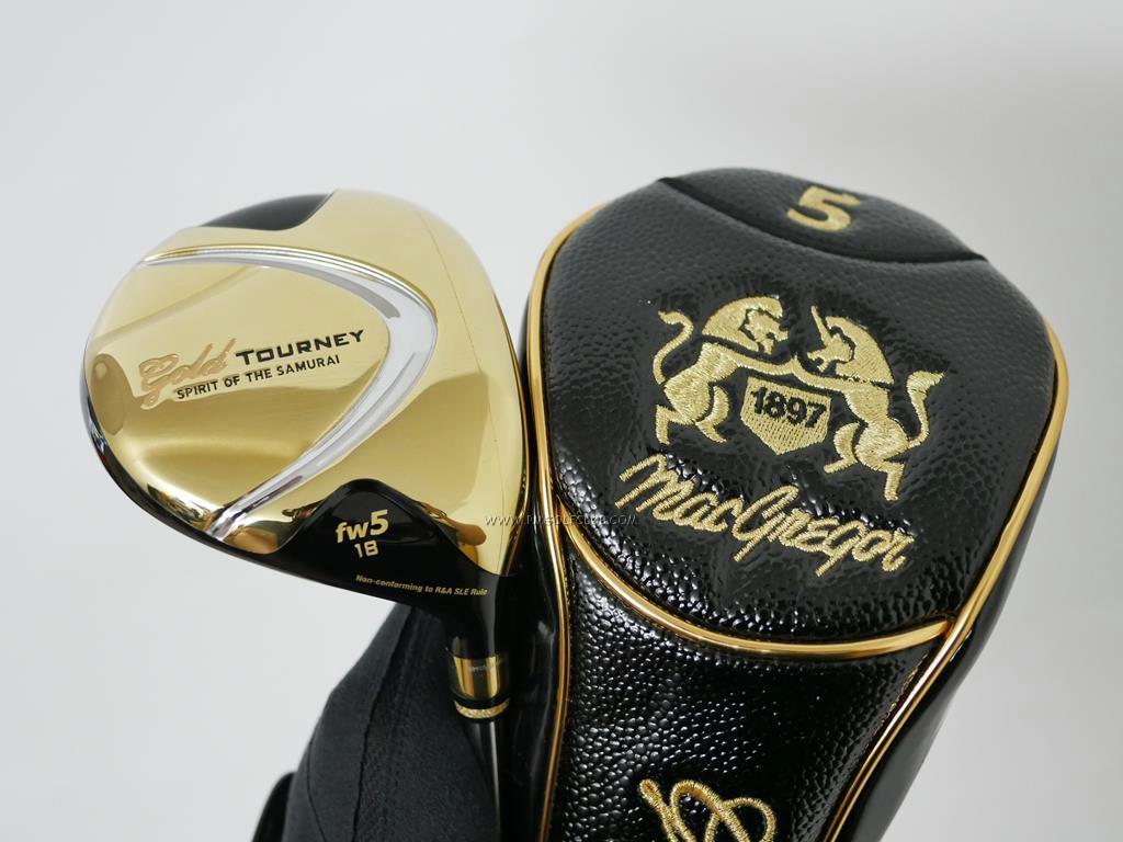 Fairway Wood : Other Brand : หัวไม้ 5 Macgregor Gold Tourney (หน้าเด้ง Non-Conform รุ่นท๊อปสุดๆ) Loft 18 Flex SR