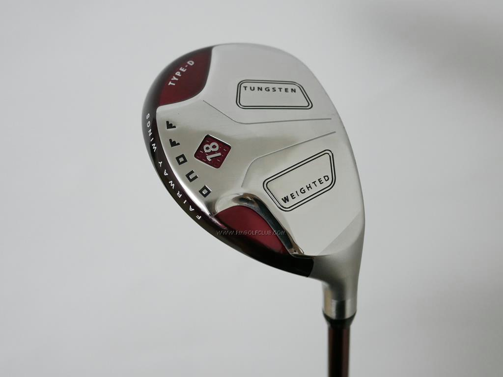Fairway Wood : Other Brand : ไม้กระเทย Daiwa OnOff Fairway Wings Type D Loft 18 Flex S