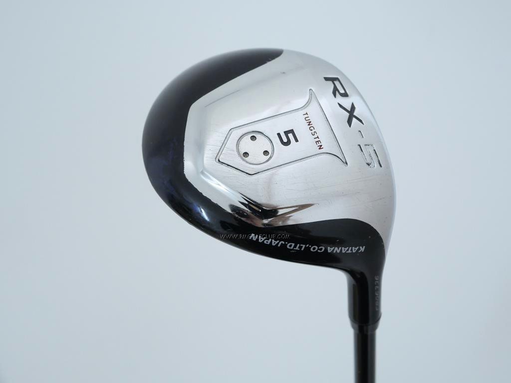 Fairway Wood : Katana : หัวไม้ 5 Katana RX-5 Loft 18 Flex R