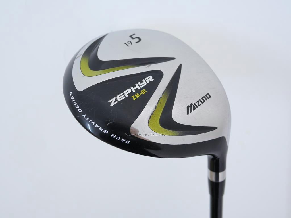 Fairway Wood : Other Brand : หัวไม้ 5 Mizuno Zephyr ZM-01 Loft 19 Flex S
