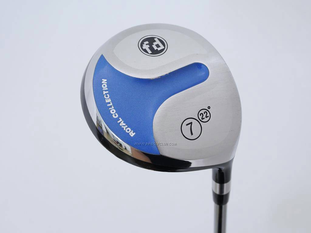 Fairway Wood : ROYAL COLLECTION : หัวไม้ 7 RC (Royal Collection) FD Loft 22 ก้าน Mitsubishi Diamana 63 Flex R