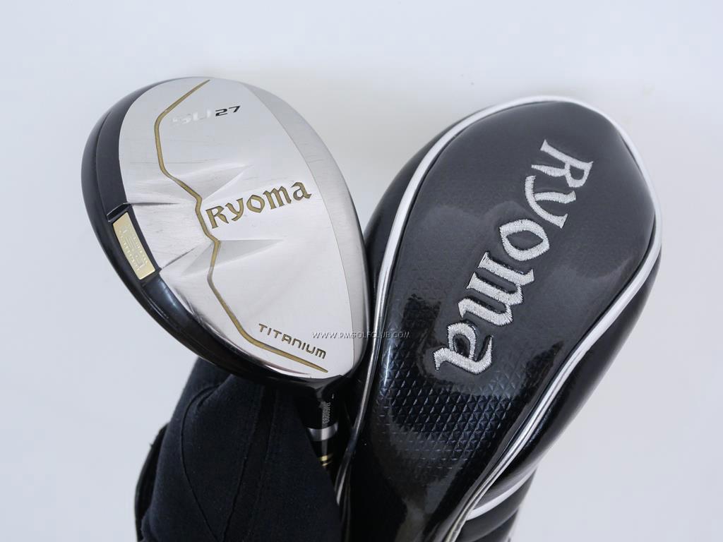 Fairway Wood : Other Brand : ไม้กระเทย Ryoma Utility (Titanium) Loft 27 ก้าน Tour AD Ryoma U Flex R2