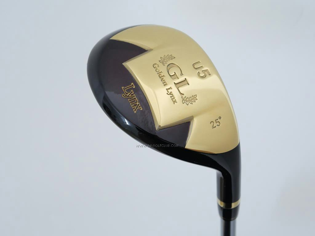 Fairway Wood : Other Brand : ไม้กระเทย Lynx Golden GL Loft 25 Flex R