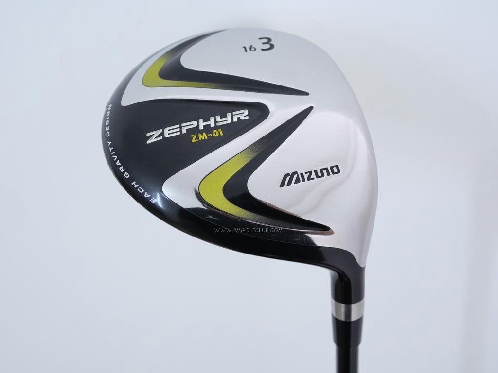 Fairway Wood : Other Brand : หัวไม้ 3 Mizuno Zephyr ZM-01 Loft 16 Flex R