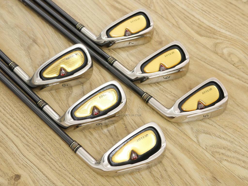 Iron set : Other Brand : ชุดเหล็ก Quelot Royal Excellence RE-10 มีเหล็ก 5-Pw (6 ชิ้น) ก้านกราไฟต์ Fujikura Speeder Motore 45i Flex R2