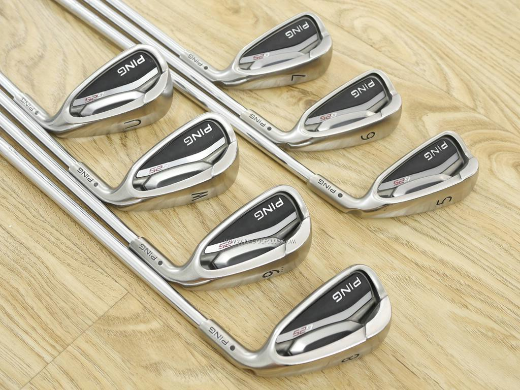 Iron set : Other Brand : ชุดเหล็ก Ping G25 (ใบใหญ่มากๆ ตีง่ายมากๆ) มีเหล็ก 5-Pw,Aw (7 ชิ้น) ก้านเหล็ก NS Pro 950 Flex S