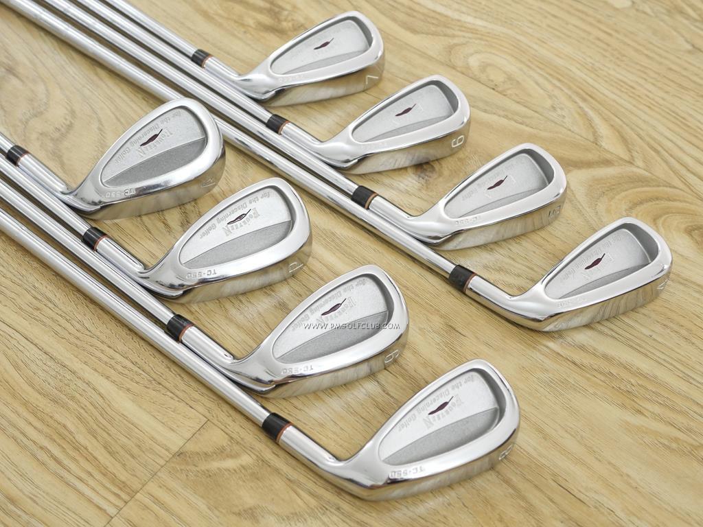 Iron set : Fourteen : ชุดเหล็ก Fourteen TC-550 มีเหล็ก 4-Pw,Aw (8 ชิ้น) ก้านเหล็ก NS Pro 950 Flex S