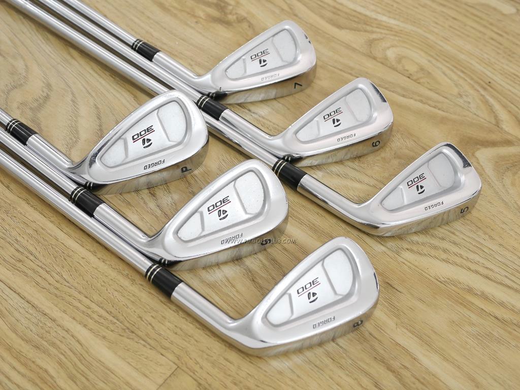 Iron set : Taylormade : ชุดเหล็ก Taylormade 300 Forged (นุ่มมากๆ) มีเหล็ก 5-Pw (6 ชิ้น) ก้านเหล็ก NS Pro 950 Flex R