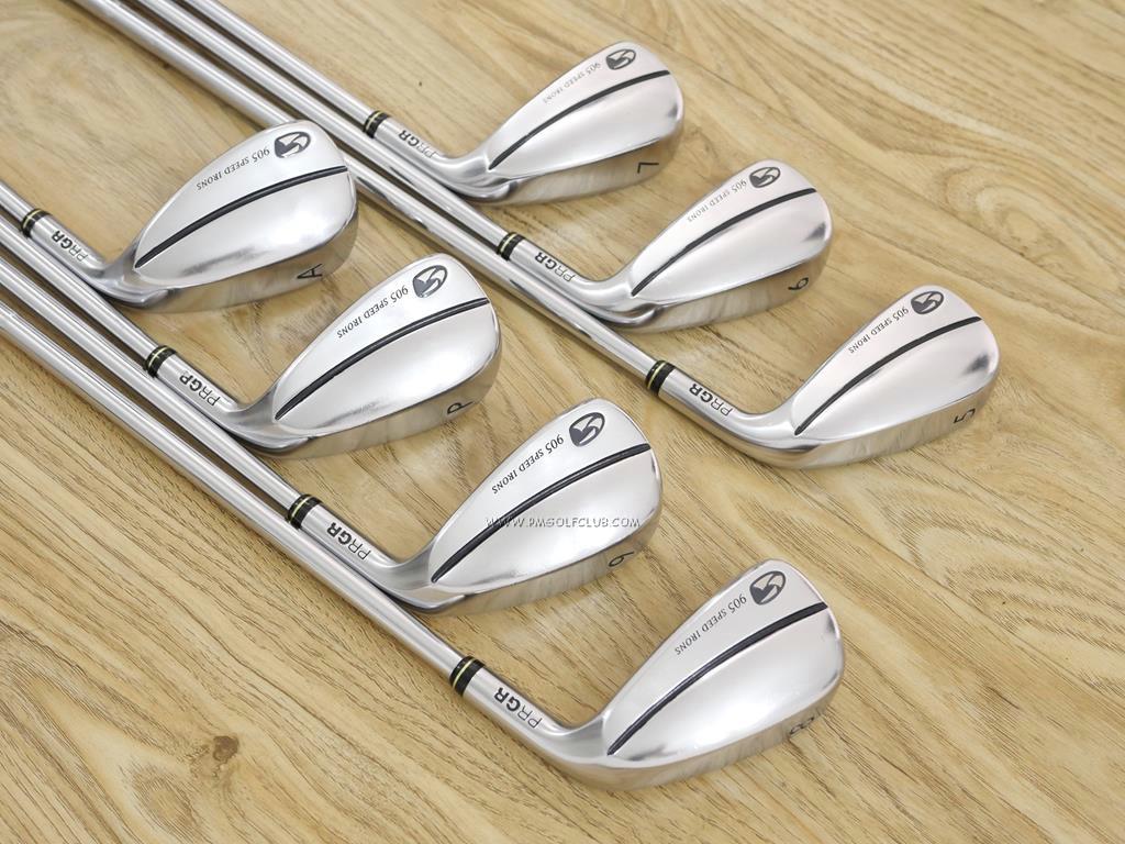 Iron set : PRGR : ชุดเหล็ก PRGR 905 Speed Irons มีเหล็ก 5-Pw,Aw (7 ชิ้น) ก้านเหล็ก NS Pro 950 Flex R