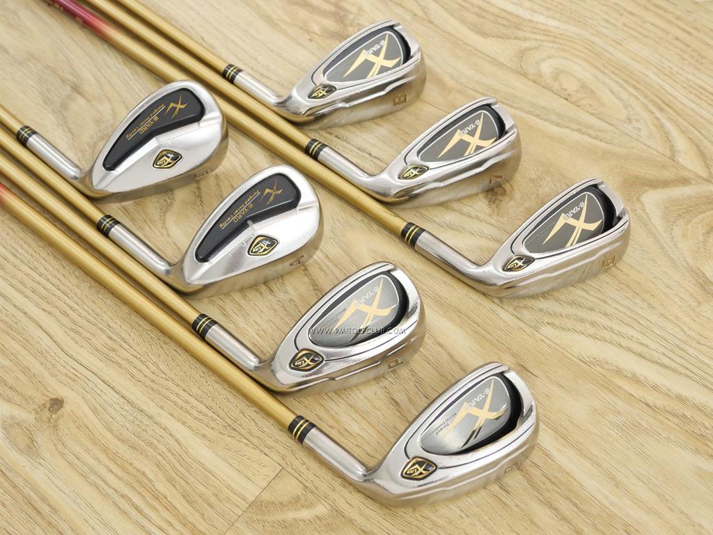 Iron set : Other Brand : ชุดเหล็ก S-Yard X-Lite (เหมาะกับซีเนียร์) มีเหล็ก 6-Pw,Aw,Sw (7 ชิ้น) ก้านกราไฟต์ Flex R1