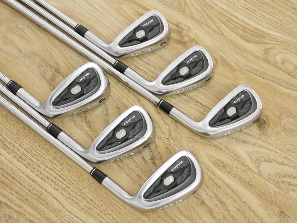 Iron set : Other Brand : ชุดเหล็ก Baldo 8C Craft (นุ่มมากๆ Forged S20C) มีเหล็ก 5-Pw (6 ชิ้น) ก้านเหล็ก Shimada K'S-Tour Flex S