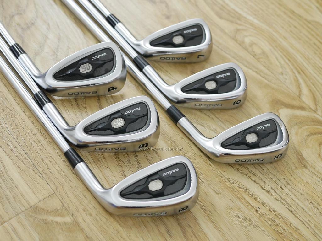 Iron set : Other Brand : ชุดเหล็ก Baldo 8C Craft (รุ่นใหม่ ปี 2015 Forged S20C) มีเหล็ก 5-Pw (6 ชิ้น) ก้านเหล็ก Dynamic Gold 120 S200