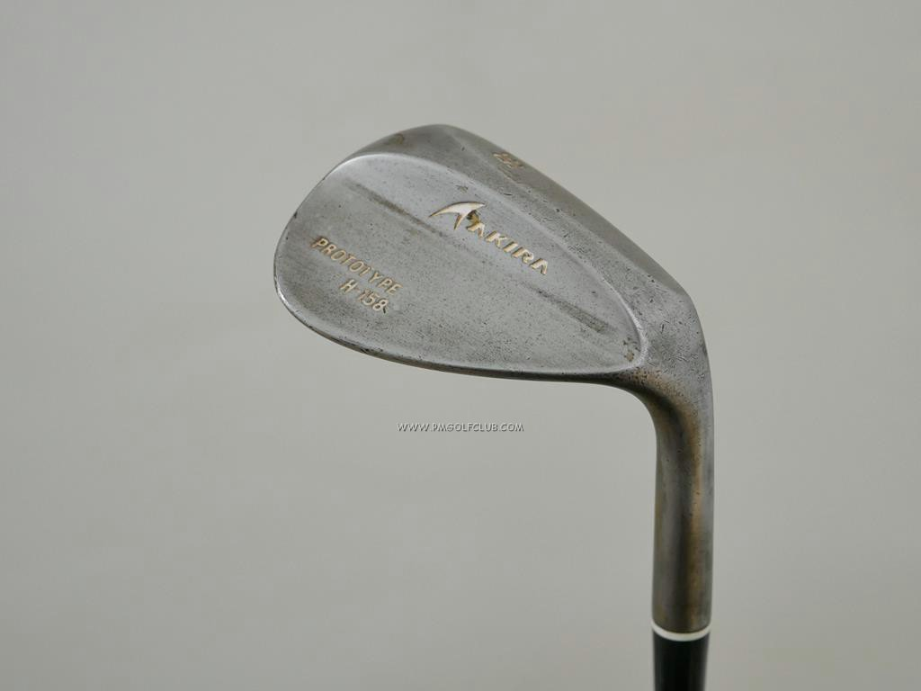 Wedge : Other : Wedge Akira Prototype H-158 Loft 58 ก้านเหล็ก DG Spinner Wedge