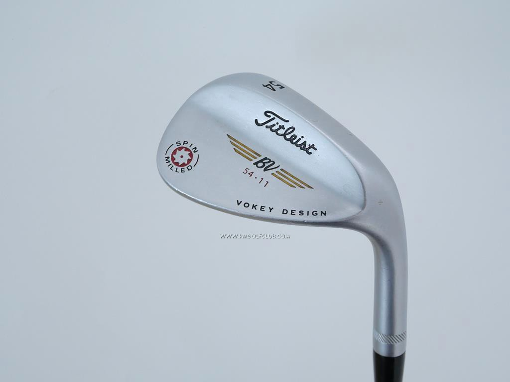 Wedge : Other : Wedge Titleist Vokey Spin Milled Loft 54 ก้าน Dynamic Gold Wedge