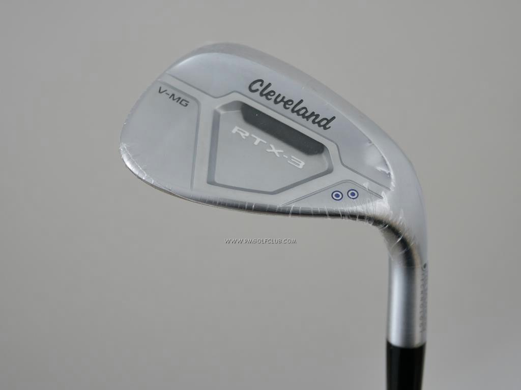 Wedge : Cleveland : **ของใหม่** Wedge Cleveland RTX-3 Cavity V-MG (Japan Spec.) Loft 58 ก้านเหล็ก Dynamic Gold S200