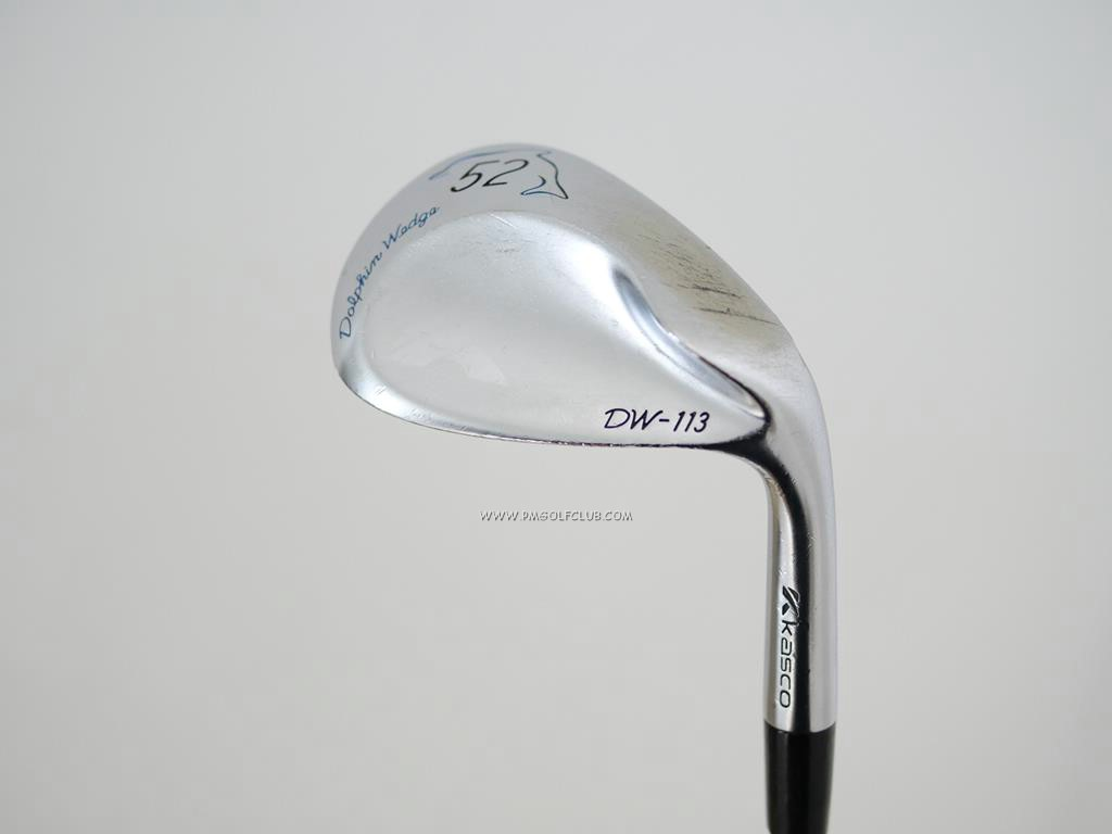 Wedge : Other : Wedge Kasco Dolphin DW-113 Loft 52 ก้านเหล็ก NS Pro 950 Flex S