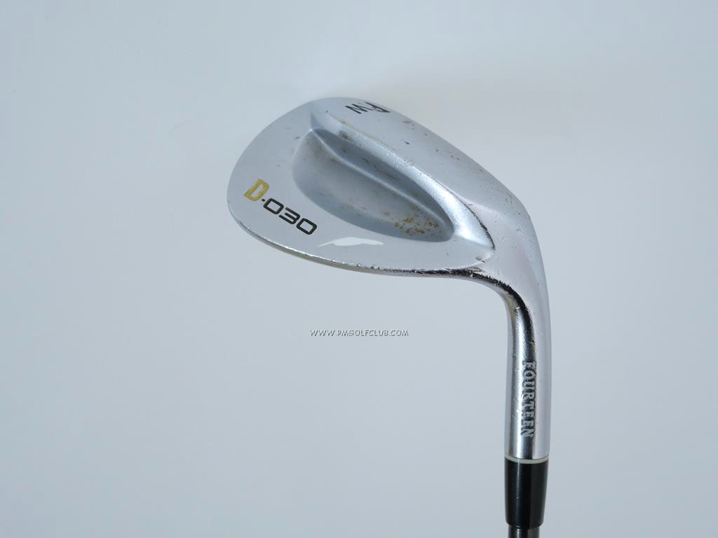 Wedge : Fourteen : Wedge Fourteen D-030 Forged Loft 51 ก้านกราไฟต์ Flex R