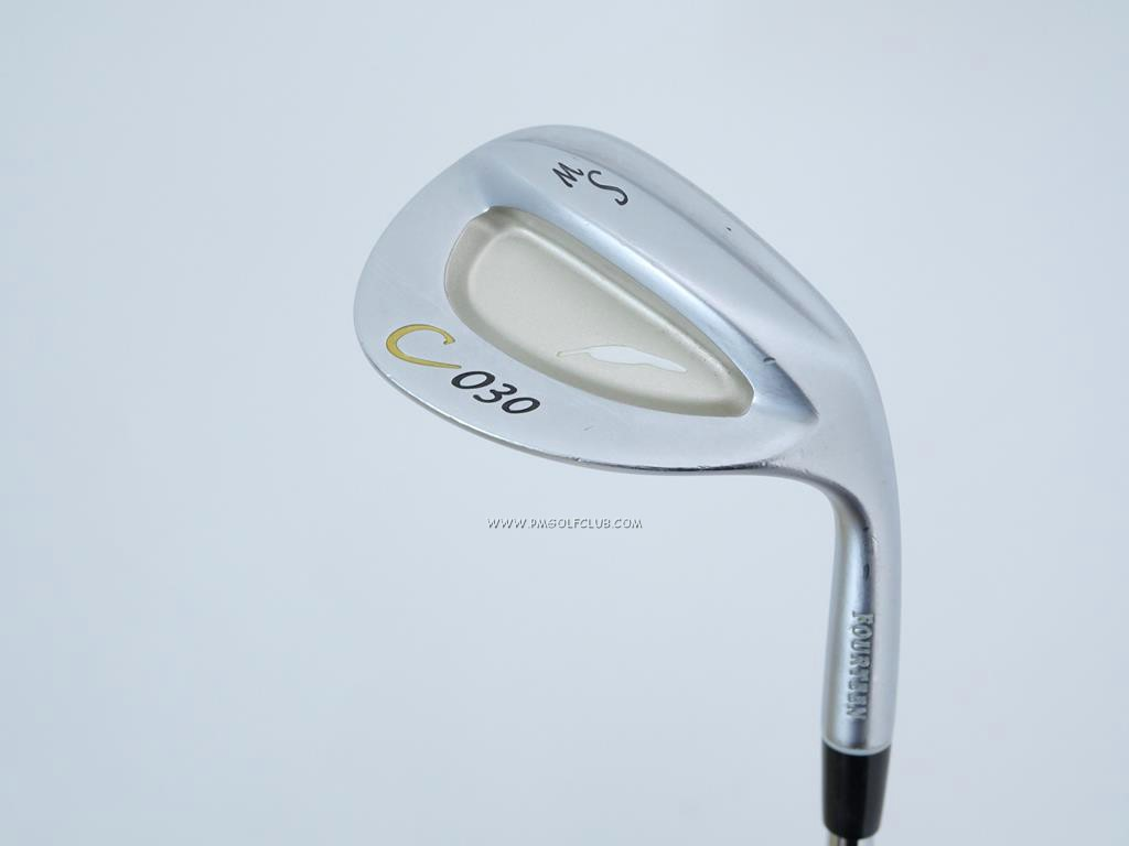 Wedge : Fourteen : Wedge Fourteen C-030 Forged Loft 56 ก้านเหล็ก Dynamic Gold Wedge Flex