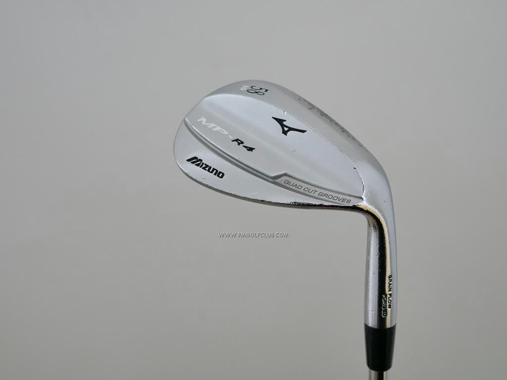 Wedge : Other : Wedge Mizuno MP-R4 Forged Loft 58 ก้านเหล็ก Dynamic Gold Wedge