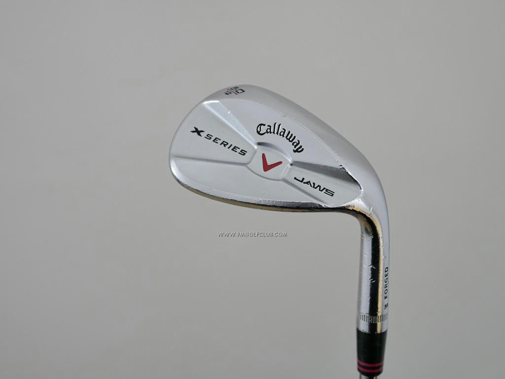 Wedge : Other : Wedge Callaway V JAWS Forged Loft 50 ก้านเหล็ก NS Pro 950 Flex S