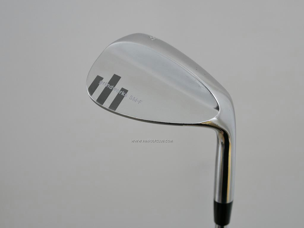 Wedge : Other : Wedge Grindworks SMF Forged (นุ่มมากๆ) Loft 56 ก้านเหล็ก Dynamic Gold S400