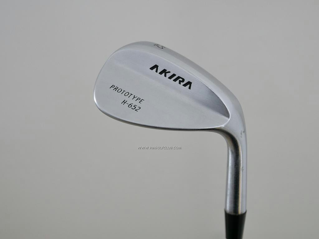 Wedge : Other : Wedge Akira Prototype H-652 Loft 52 ก้านเหล็ก Dynamic Gold X100