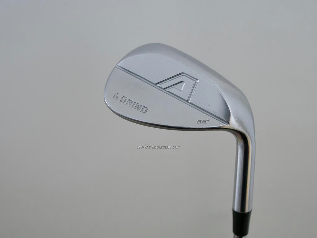 Wedge : Other : Wedge A-Grind Forged Loft 56 ก้านเหล็ก Dynamic Gold Tour Issue S200