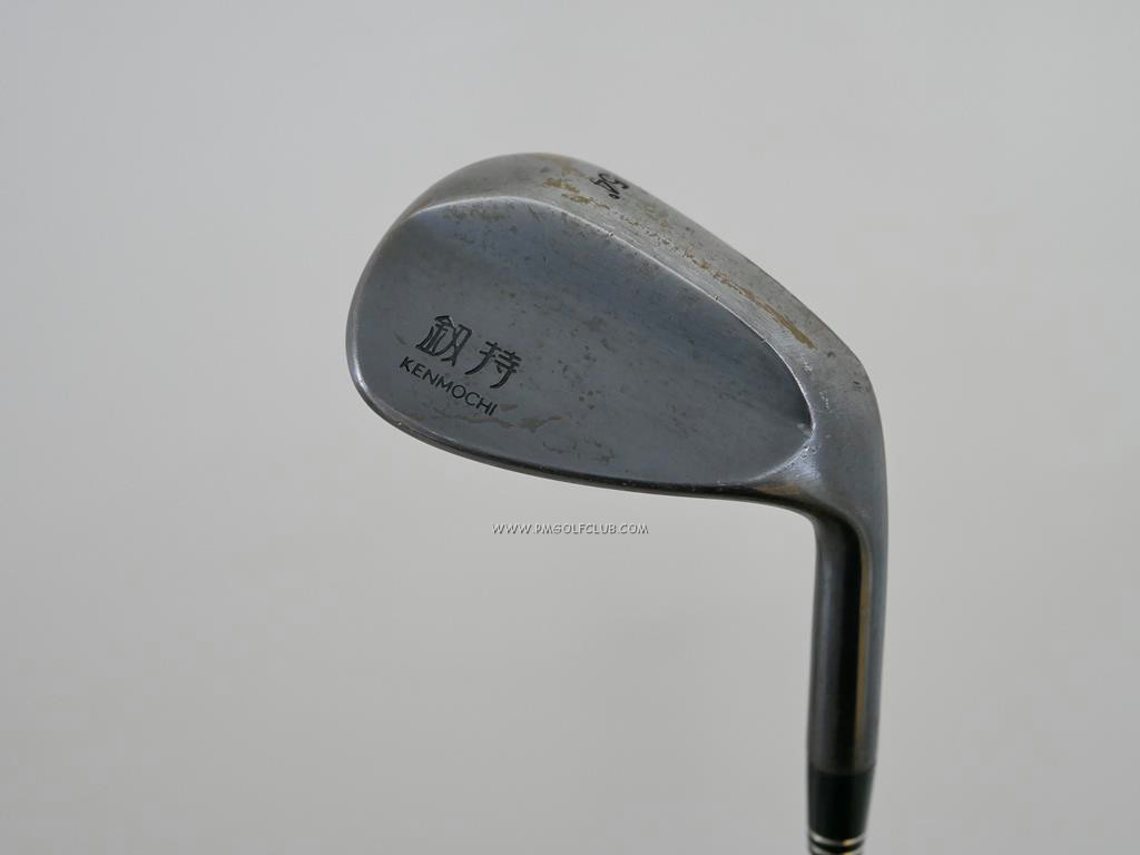 Wedge : Other : Wedge KENMOCHI Milled Forged Loft 54 ก้านเหล็ก Dynamic Gold S200