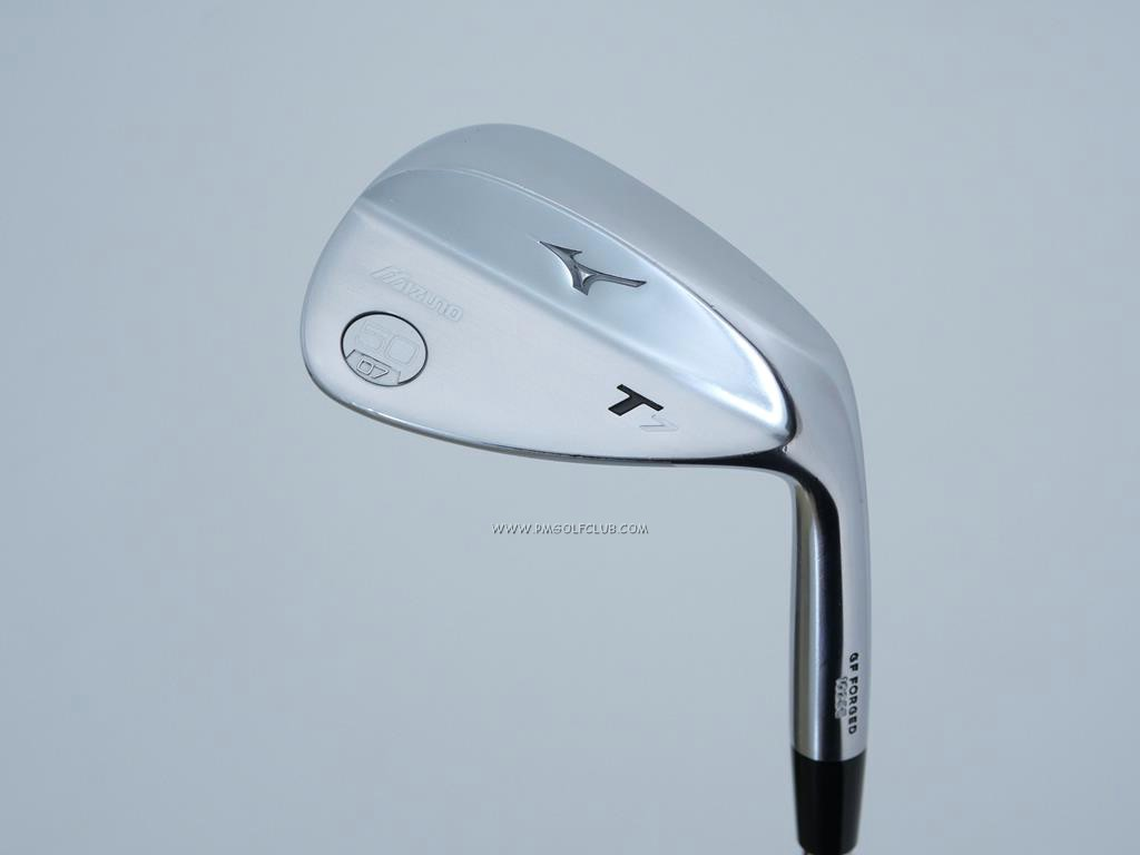 Wedge : Other : Wedge Mizuno T7 Forged Loft 50 ก้านเหล็ก Dynamic Gold S200