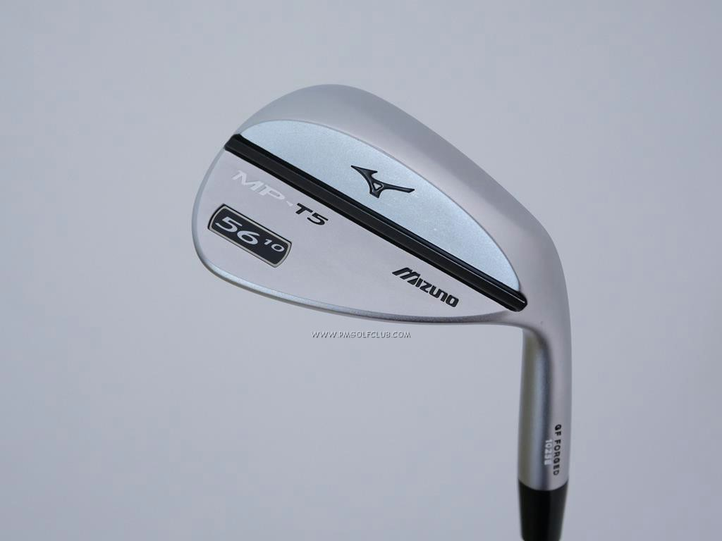 Wedge : Other : Wedge Mizuno MP-T5 Forged Loft 56 ก้านเหล็ก Dynamic Gold Wedge