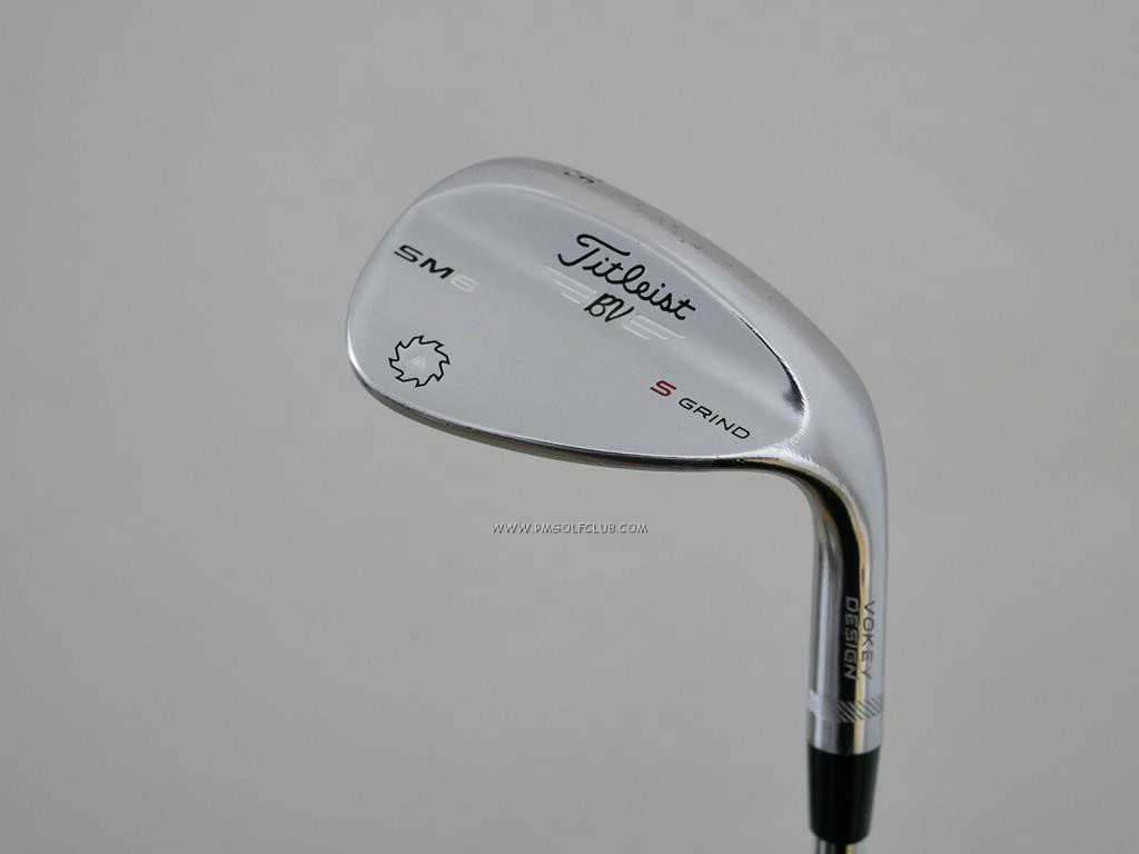 Wedge : Other : Wedge Titleist Vokey SM6 Loft 56 ก้านเหล็ก Dynamic Gold Wedge Flex