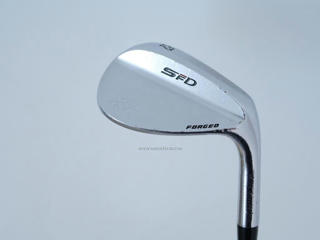 Wedge : Other : Wedge RC (Royal Collection) SFD X7 Forged Loft 52 ก้านเหล็ก NS Pro Zelos 8 Flex S