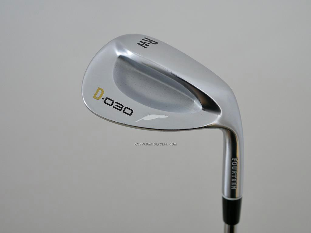 Wedge : Fourteen : Wedge Fourteen D-030 Forged Loft 51 ก้านเหล็ก NS Pro 950 Flex S