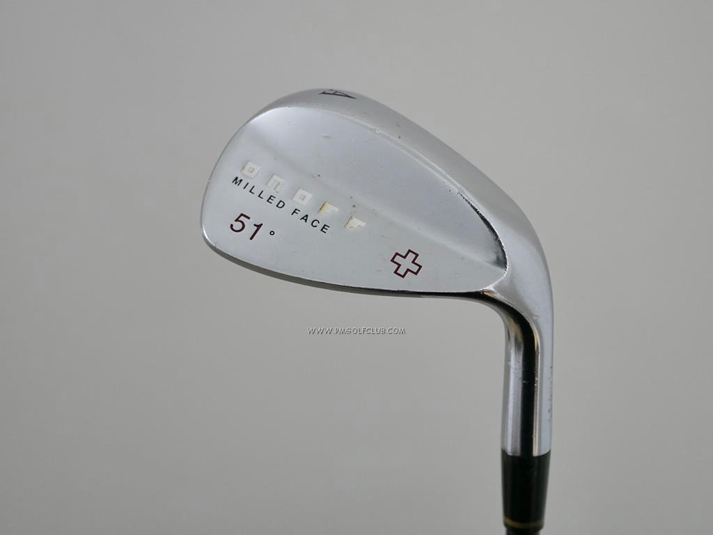 Wedge : Other : Wedge Daiwa OnOff Milled Face Forged Loft 51 ก้านกราไฟต์ Tour AD 75 Flex R