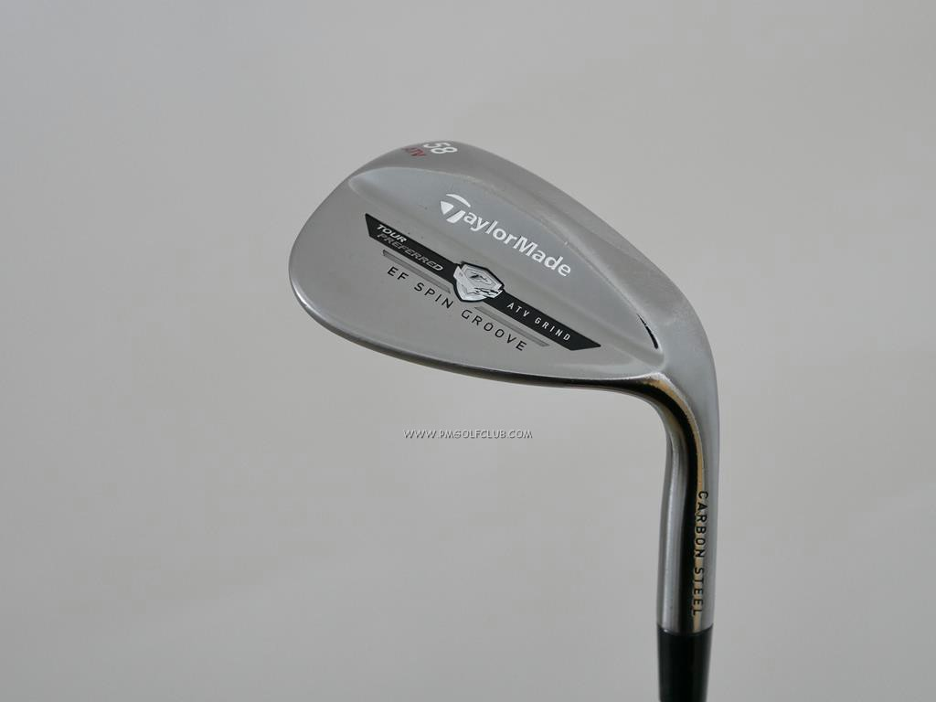 Wedge : Taylormade : Wedge Taylormade TP ATV Grind EF Spin Loft 58 ก้านเหล็ก Dynamic Gold S300